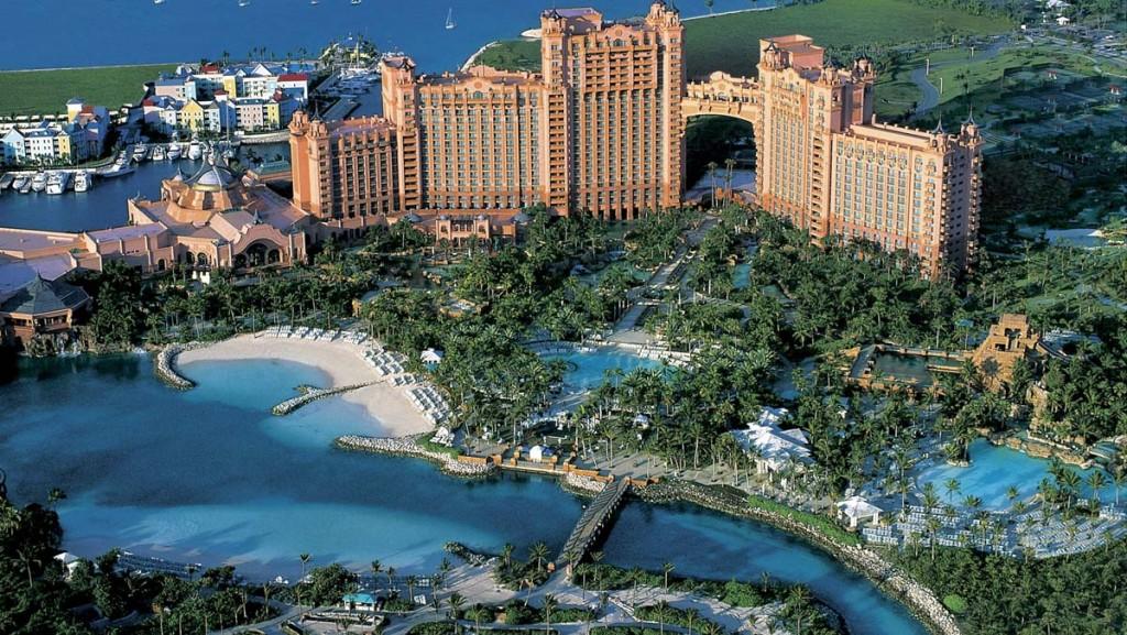 Nassau, la capitale des Bahamas,
