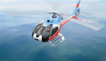 L'hélicoptère Airbus EC130-T2