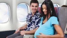 Voyager en étant enceinte