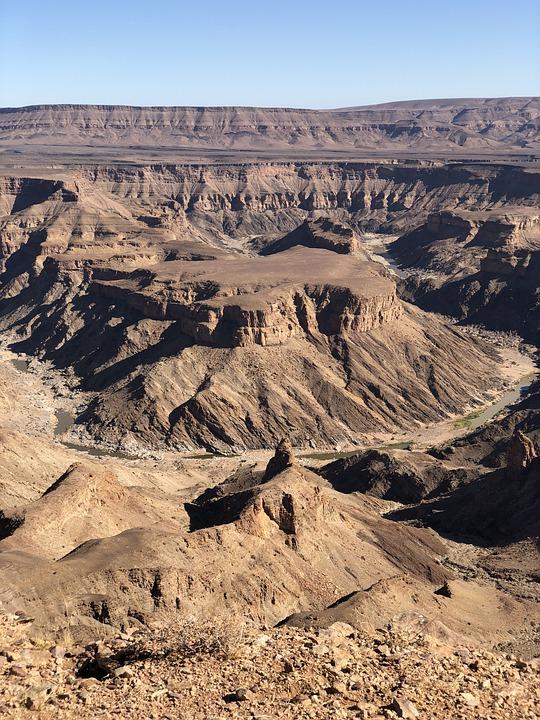 Le canyon du Fish River